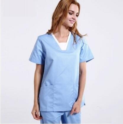 sanxiaxin Nurse suit split suit male and female doctors ...  Female Dentist Attire