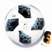 2018 Группа футбольный мяч Размер 5 красный футбольный мяч PU высококачественный бесшовный кожзам кожи для тренировки на открытом воздухе шары