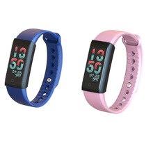 Sport font b Smart b font Bracelet Watch Digital Clock Waterproof Stopwatch heart rate monitor blood
