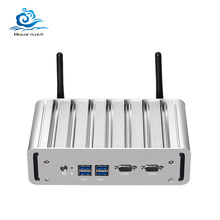 Esperanza Mini PC LAN Dual Core i3 5005U i5 5200U i7 5500U 2955U Windows 10 Gráficos HD 5500 2 * COM HDMI WIFI Mini computadora(China)