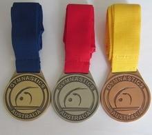High quality gymnastics medal hot sale die casting electroplating medal k 200168 high quality export die casting mold