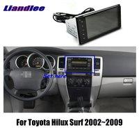 Liandlee 7 для Toyota Hilux Surf 2002 ~ 2009 Автомобильный Android радио плеер gps NAVI карты HD сенсорный экран ТВ Мультимедиа без CD DVD