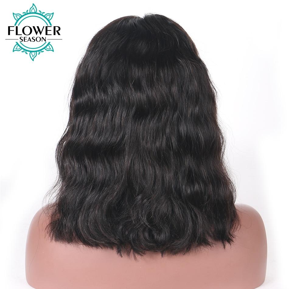 [Oulaer] 10 '' - 18''Natural Wave Brazilian Remy Hair Natural Color - Mänskligt hår (svart) - Foto 4