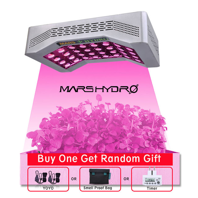 Mars hydro pro ll 600W led cree grow light full spectrum for Indoor garden hydroponic system to grow greenhouse grow plant light