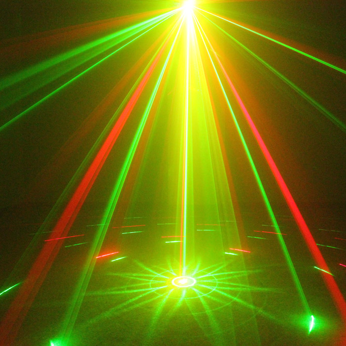 Chims DJ Laser 3 Lens 9 Patterns Club RG Laser BLUE LED Stage Lighting Home Music Party Professional Projector Light Disco L09RG amt 550b aroma metro tuner metronome tuner and tone generator 3 in 1 amt550b loud sound guitar accessories