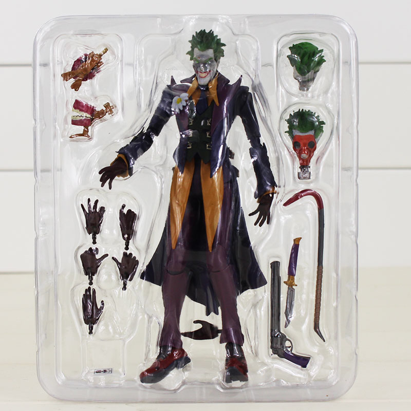 все цены на  Injustice Gods Among Us The Joker Suicide Squad SHF S.H.Figuarts The Dark Knight joker Cartoon PVC Action Figure Toy  онлайн