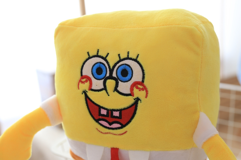 1pcs 30cm Cartoon Sponge baby bob Plush toySend big stars Plush doll toys Soft  Pillow Kids Toys birthday gift!free shipping!