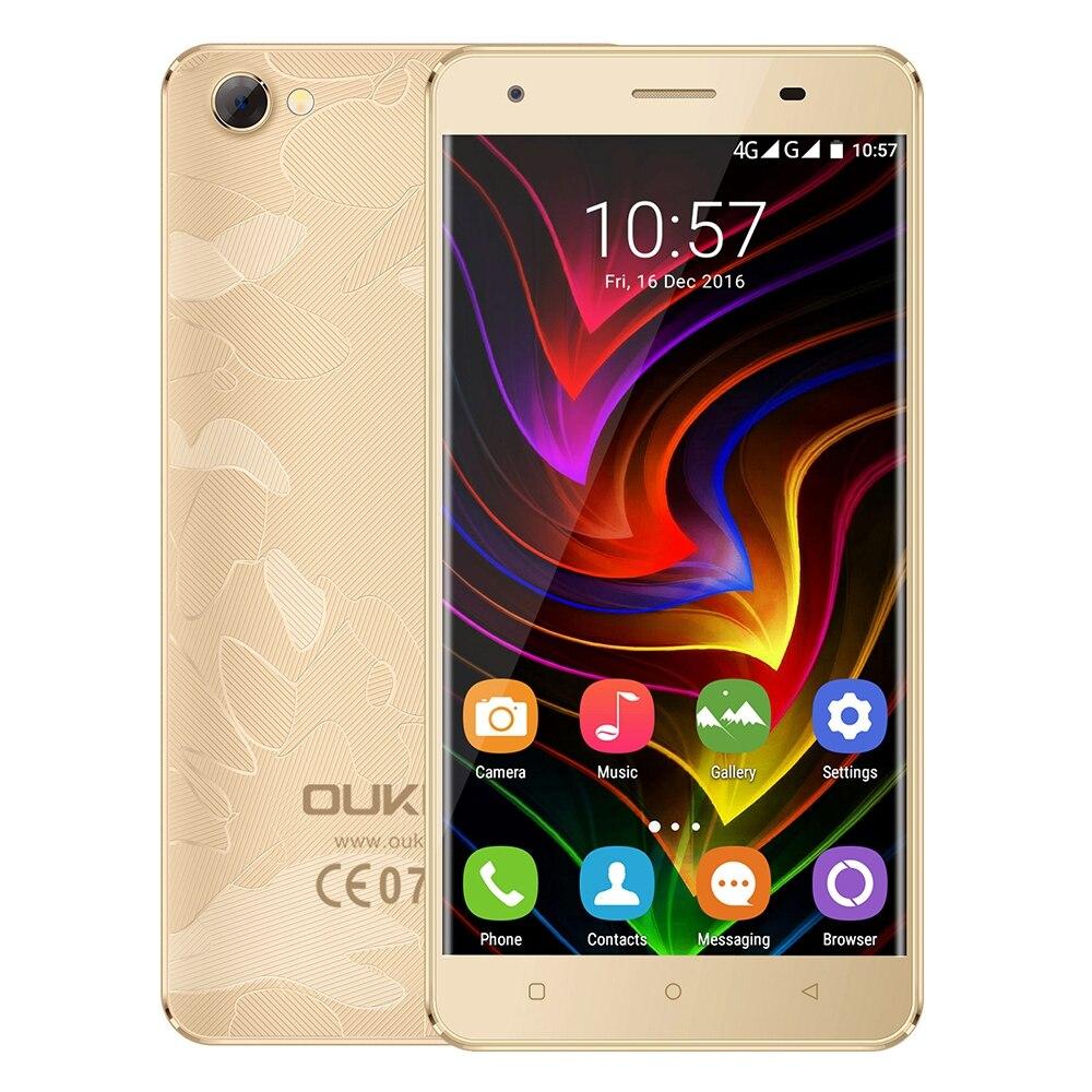 Оригинальный Oukitel C5 Pro 4 г 5.0 дюймов смартфон Android 6.0 mtk6737 4 ядра 1.3 ГГц телефона 2 ГБ Оперативная память + 16 ГБ Встроенная память двойной Камера те…