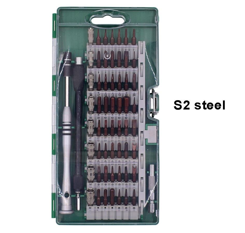 60 in 1 screwdriver