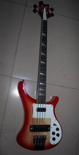 Wholesale Cnbald Best Quality 4 string 4003 electric bass Top Quality fireglo in Cherry Burst 121218