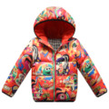 Free Shipping Fashion Child Down Jacket Printing Totem Light Comfort Boy & Girls Winter Coats Warm Cotton Padded Clothing YBK04