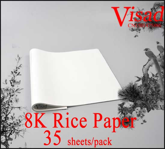 Chinese Rice Paper Painting Calligraphy 8K Xuan Paper Art Paper Supplies Pen Refill