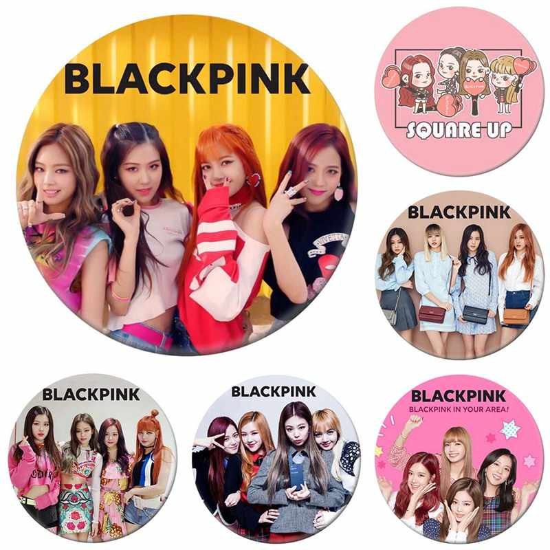 15 Styles Korean KPOP BLACKPINK Album Brooch Pin Badge Accessories For Clothes Hat Backpack Decoration Free Shipping