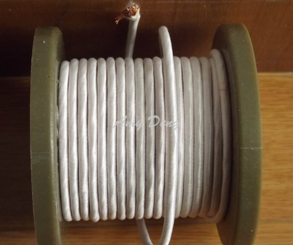 20 Meters/lot  0.1X500 Shares Litz Strands Of Polyester Cotton Covered Wire