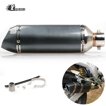 Universal Modified Motorcycle Exhaust Pipe Muffler Exhaust Moto Escape Universal Most motorcycle ATV Scooter For Honda NC750X