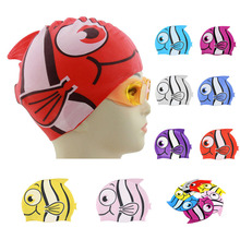 SEAC Swimming Cap 2018 New Swimsuit Cartoon Swimming Cap High Quality Swimming Caps For Ear Protection maillot de bain femme