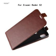 HUDOSSEN для Xiaomi Redmi S2 M1803E6E случае роскошный Флип кожаный задняя крышка аксессуары сумки кожи для Xiaomi Redmi S2 чехол