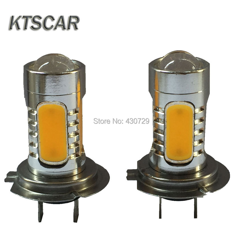 car light source High Power H7 H11 9006 HB4 9005 HB3 led 7.5W 5 LED Pure White Fog Head Tail Driving Fog Lamps External Lights 9005 hb3 9006 hb4 7 5w high power cob led bulb car auto light source projector drl fog headlight lamp white yellow