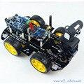 Wifi iOS Inteligente Robot Car Kit para arduino Robot Coche de Control Remoto Inalámbrico de Vídeo Android PC de Vídeo Vigilancia