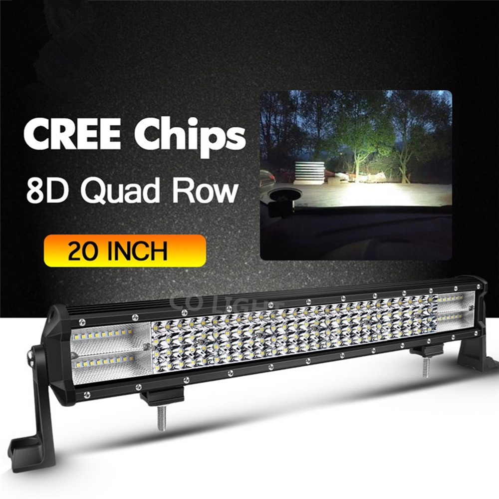 CO LIGHT 468W 20Offroad LED Work Light Bar Combo Beam LED Light Bar for Jeep 4x4 UAZ SUV ATV 4WD Truck Lada Automobile 12V 24V машинки autotime машина uaz 31514 ваи