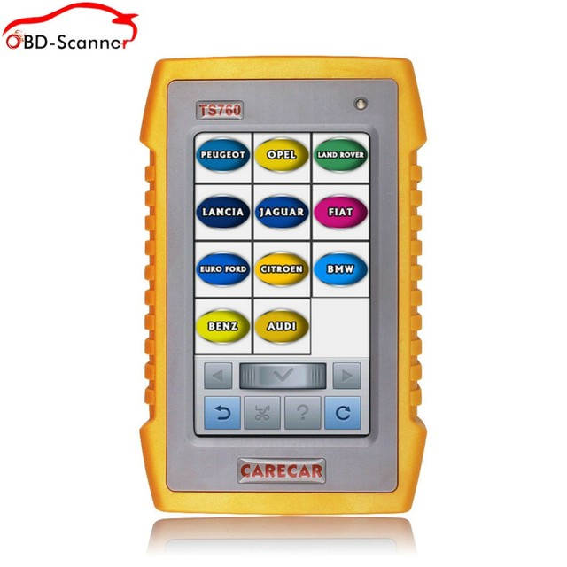 Автомобильный диагностический сканер TS760 Французский Язык тестер инструмент автомобиля Авто Диагностики и Кодирования Инструмент Же как autel Ds708 Gscan