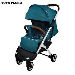 YOYA PLUS 3 Del Bambino passeggino genuino di marca merci di qualità con il regalo del bambino passeggino in vendita calda di marca genuino di Qualità del servizio