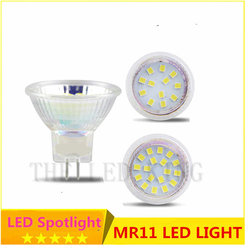 5x MR11 led spot light Ac/Dc 12 volt glass bulbs smd 5050 leds 7w 5w 3w 24v spotlight lighting for under kitchen cabinets