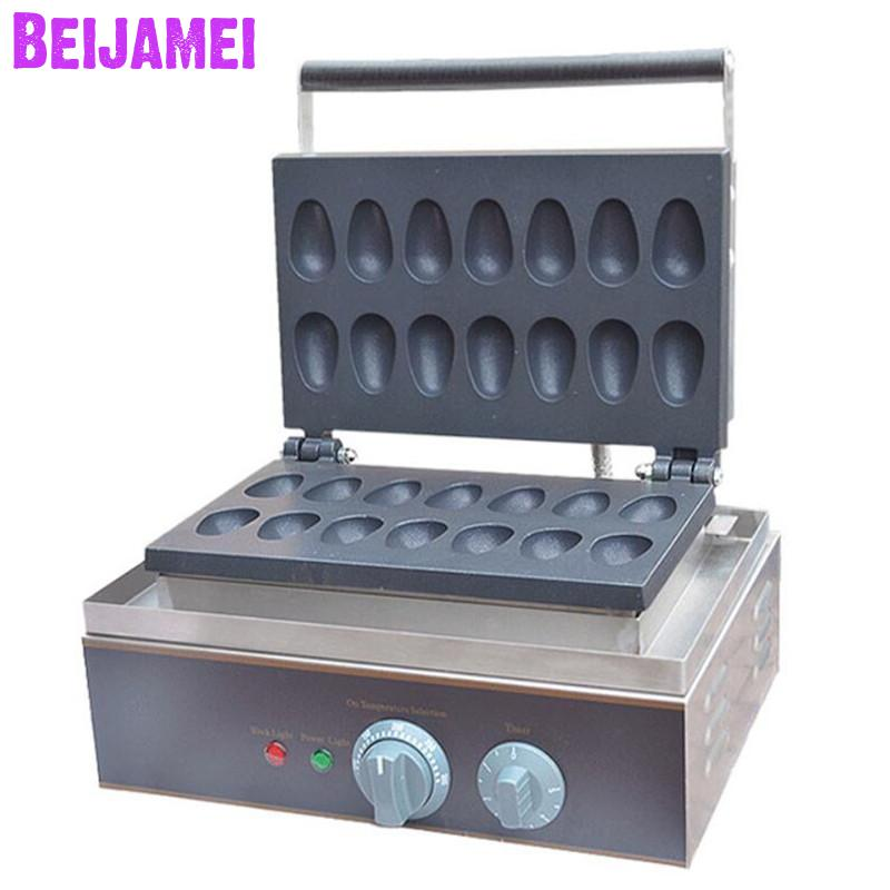 BEIJAMEI Wholesale Products Commercial Non-stick Electric quail eggs Waffle Maker Waffle Making Machine Price