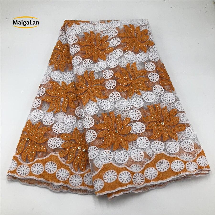 จัดส่งฟรีสีส้มแอฟริกันผ้าลูกไม้คุณภาพสูงหลายสีลูกไม้ guipure ลูกไม้ผ้าสำหรับสตรี SML81030 14-ใน ลูกไม้ จาก บ้านและสวน บน   1