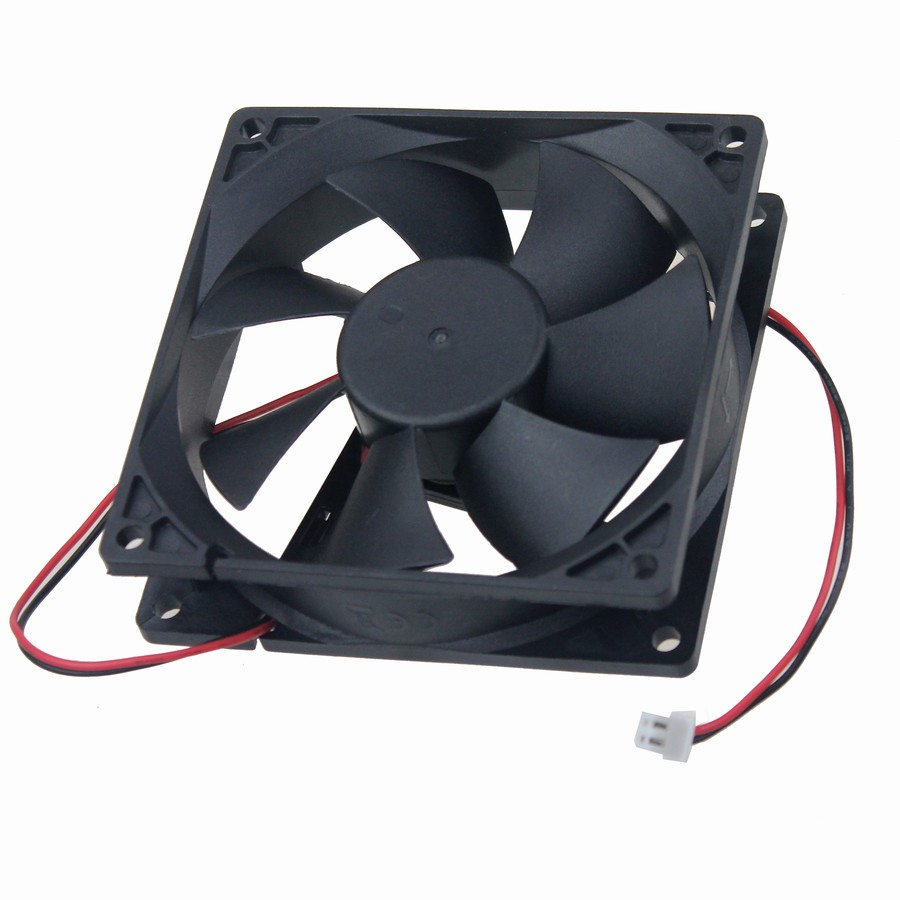 2PCS Gdstime 24v 24 Volt 92mm 92x92x25mm 9CM Axial Flow Mechanical Brushless Cooler Cooling Fan 90mm gdstime 5 pcs dc fan 12v 92mm 92x92x25mm pc cooler brushless computer case cooling fan 2 pin two wire