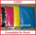 Pó de toner de cor compatível ricoh c2051-c2551