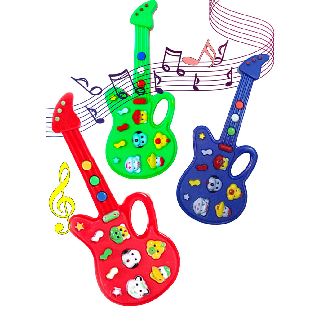 HIINST 2017 Baby Kids Cute Electronic Guitar Rhyme Developmental Music Sound Child Toy Dropship Y791