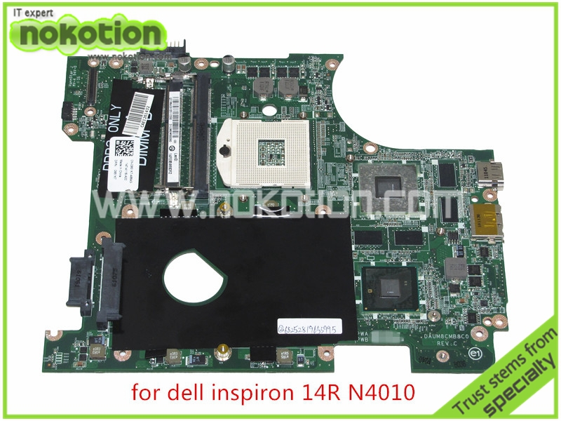 0951K7 DAUM8CMB8C0 REV C CN 0951K7 For Dell inspiron 14R N4010 laptop font b motherboard b