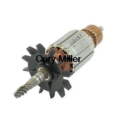 AC 220 V 9mm Drive Shaft 6 Dents Rotor de Moteur pour Makita JR3000 Churn Drill