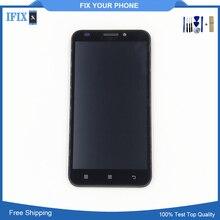 Черный, белый цвет для Lenovo A916 ЖК-дисплей Дисплей с Сенсорный экран планшета смартфон с рамкой кадра Бесплатная доставка