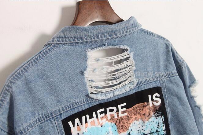 HTB1lt1aNXXXXXasXXXXq6xXFXXXE - Where is my mind? jacket Light Blue Ripped Denim