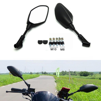 Motorcycle Rearview Rear View Side Mirrors for For BMW F800GS F650GS F800R For YAMAHA YZF R1 R6 MT09 MT07 FZ1 R3 R25 For SUZUKI
