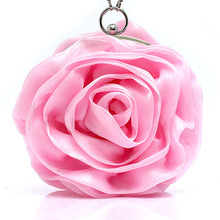 Фиолетовые, розовые, красные, цвета слоновой кости, золотые, милые цветы, розы, вечерняя сумочка, женский клатч, сумочка для невесты, свадебные сумки, вечерние мини-сумки, SMYBK-A001