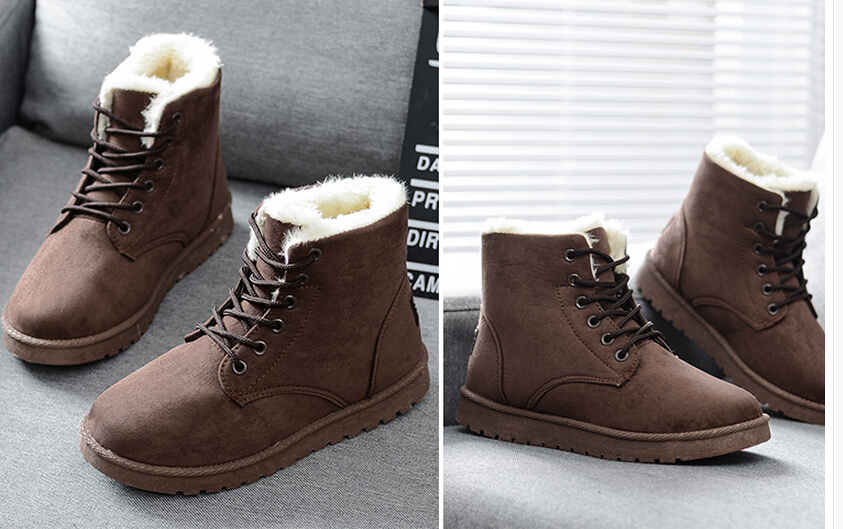 7db40c4ab06 2015 fashion winter UGC shoes women's winter suede boots for men ladies  snow boot botines mujer chaussure femme DZ50-in Snow Boots from Shoes on ...