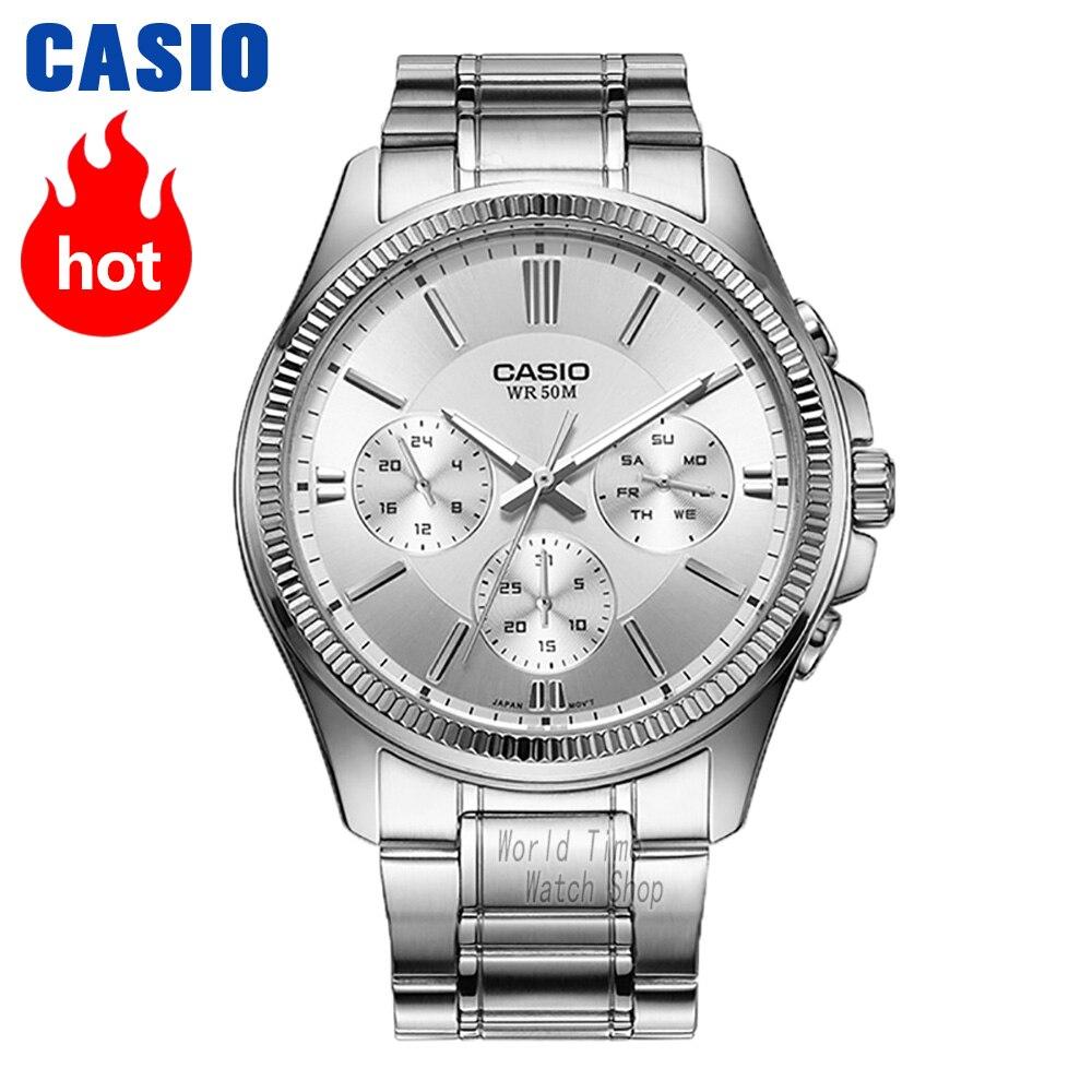 Casio relógio Analógico de quartzo dos homens sports watch casual simples relógio à prova d' água MTP-1375