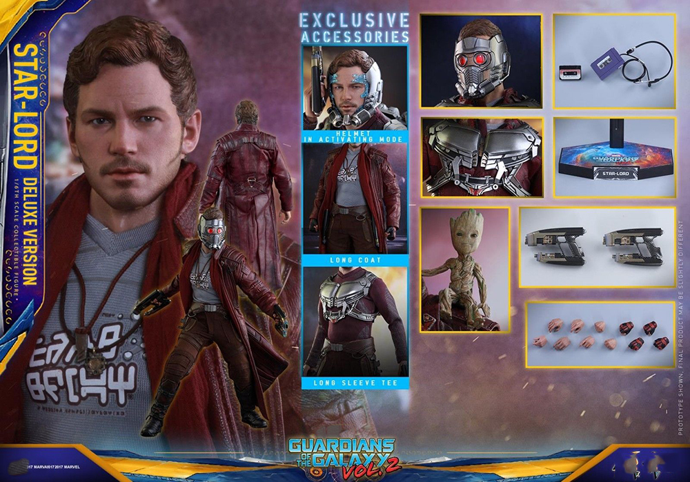 1/6 Bilancia 1/6 Star Signore Action Figure Set Completo HT MMS421 Hot Toys Collection Deluxe Versio Hot Giocattoli Collezioni1/6 Bilancia 1/6 Star Signore Action Figure Set Completo HT MMS421 Hot Toys Collection Deluxe Versio Hot Giocattoli Collezioni