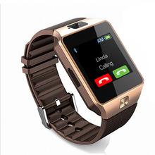 Ssdfly 2018 nowy Smart watch Dz09 Bluetooth inteligentne zegarki Smart Touch Smart watch połączenia Bluetooth telefonu karty Sim tanie tanio Passometer Uśpienia tracker Wybierania połączeń Naciśnij wiadomość Tracker fitness Odpowiedź połączeń Wiadomość przypomnienie