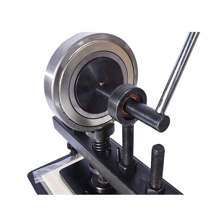 Máquina cortadora de cuero de la mano, papel fotográfico, molde cortador de hoja PVC/EVA, molde para cuero manual/troqueladora máquina de cortar manual - 3