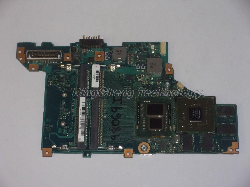 SHELI MBX 206 laptop Motherboard For Sony MBX-206 for intel i7-620M cpu with 8 video chips non-integrated graphics card sheli mbx 235 laptop motherboard for sony m932 mbx 235 1p 0107j00 8011 a1796418a for intel cpu with non integrated graphics card