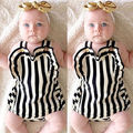 0-24M Baby Newborn Girls Stripe Romper One-Piece Clothes Playsuits Outfits Sets Girl Romper
