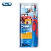 BRAUN Oral B Children Safety Electric Toothbrush D12513K Recharging Waterproof Gum Care Princess Teeth Brush For