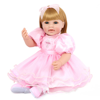 50 cm 20 Inches silicone Reborn Realistic Collection Toddler Dolls For Babies Playmate Toys Accompany Sleeping Toys Juguetes