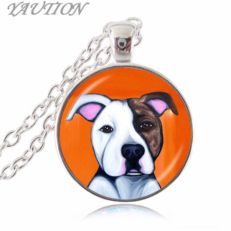 Pit Bull Dog Colar Pingente Bulldog Pitbull Terrier Americano De
