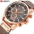 CURREN 8291 мужские военные кварцевые часы Топ люксовый бренд мужские армейские спортивные часы мужские Хронограф Дата Часы Relogio Masculino