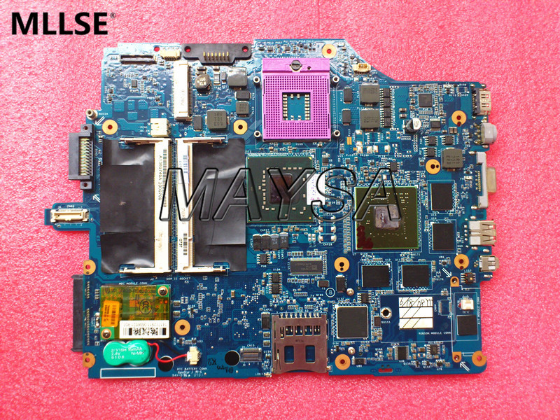 все цены на MBX-165 MS90 MS91 MS92 Rev 1.2 A1273690A Laptop Motherboard Fit For SONY VAIO VGN-FZ Series, 100% Tested and Working